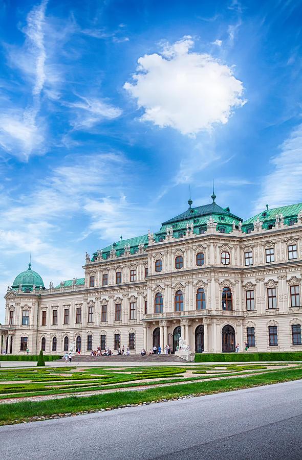 Vienna Photograph - Under The Cloud by Viacheslav Savitskiy