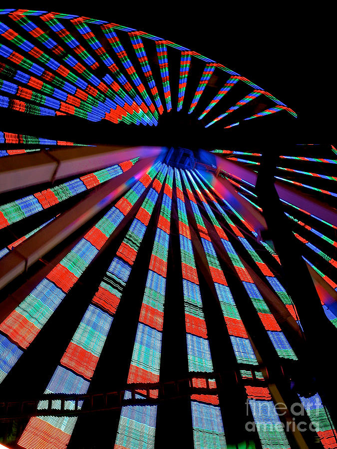 156 Foot Tall Photograph - Under The Giant Wheel by Mark Miller