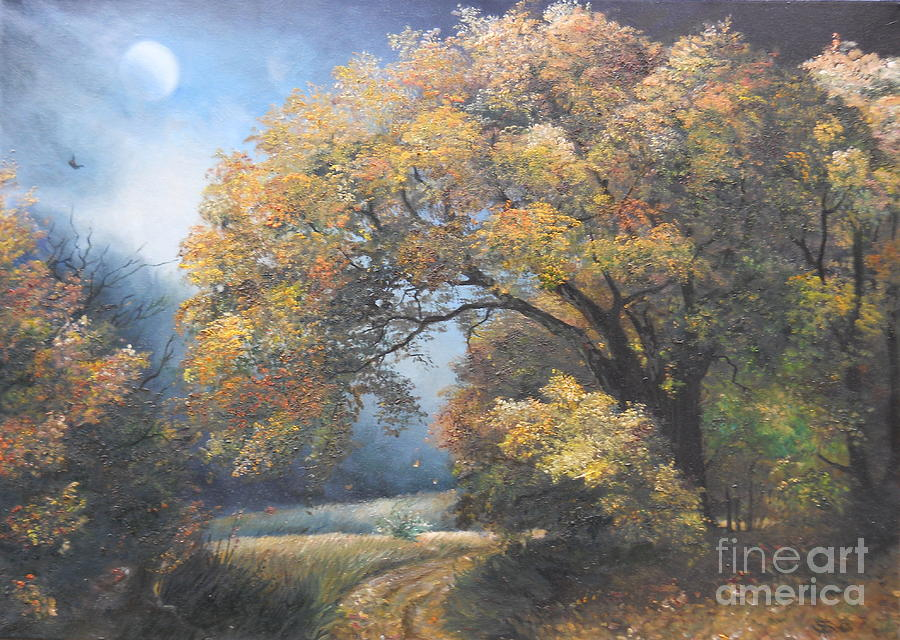 Under The Moonlight Painting