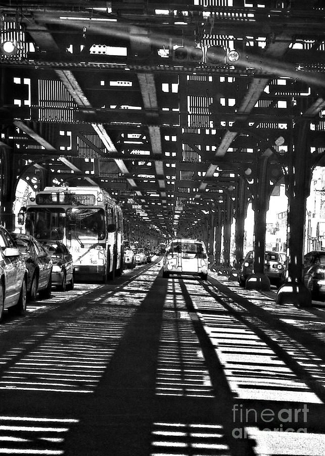 Sarah Loft Photograph - Under The One Train In The Bronx by Sarah Loft