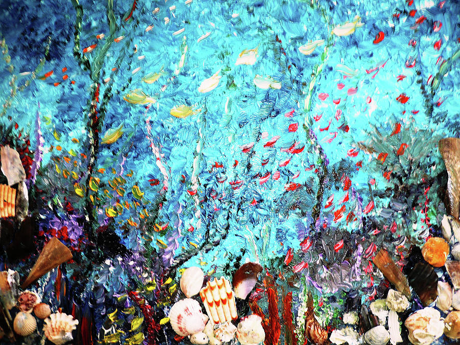 Under The Sea Painting By Karin Dawn Kelshall Best