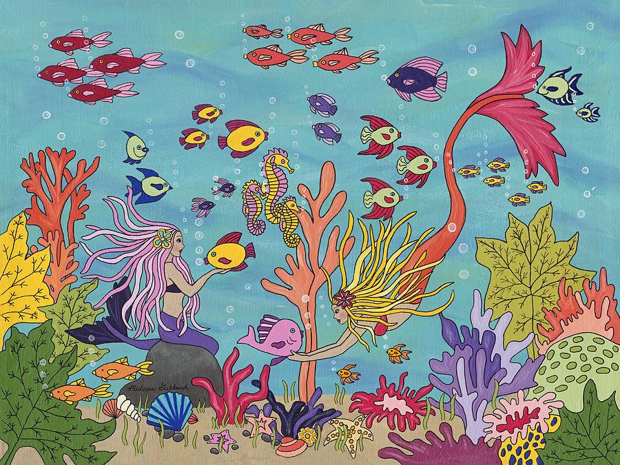 Under The Sea Painting by Medana Gabbard