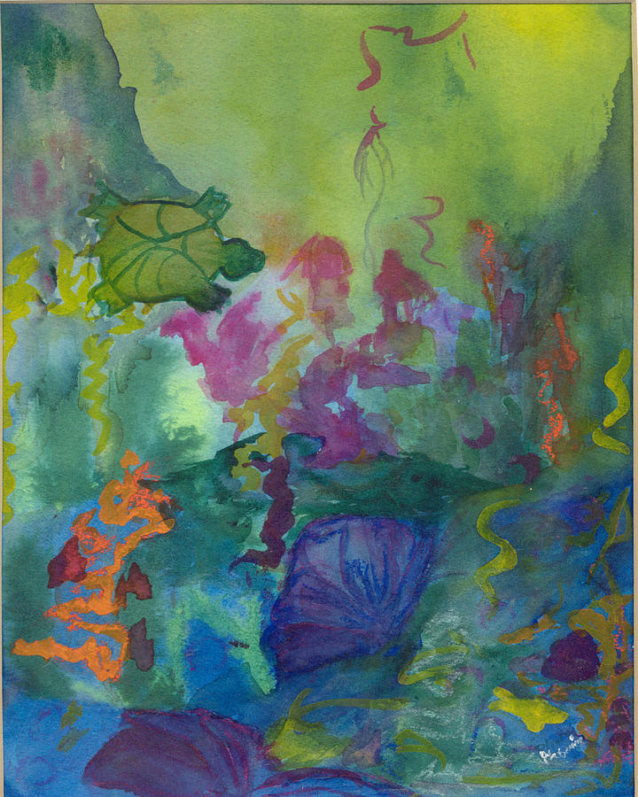 Vibrant Painting - Under the Sea by Phoenix Simpson
