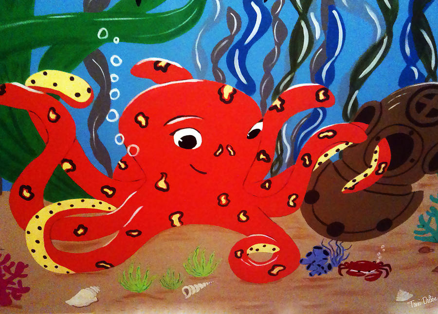 Under The Sea Painting - Under The Sea by Tami Dalton