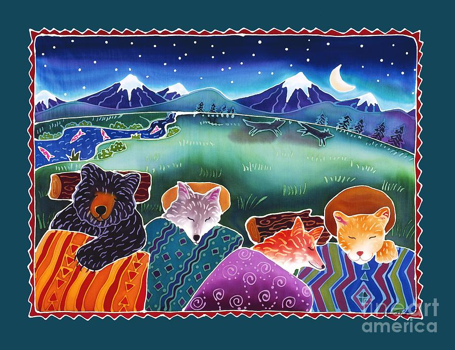 Stars Painting - Under the Stars by Harriet Peck Taylor