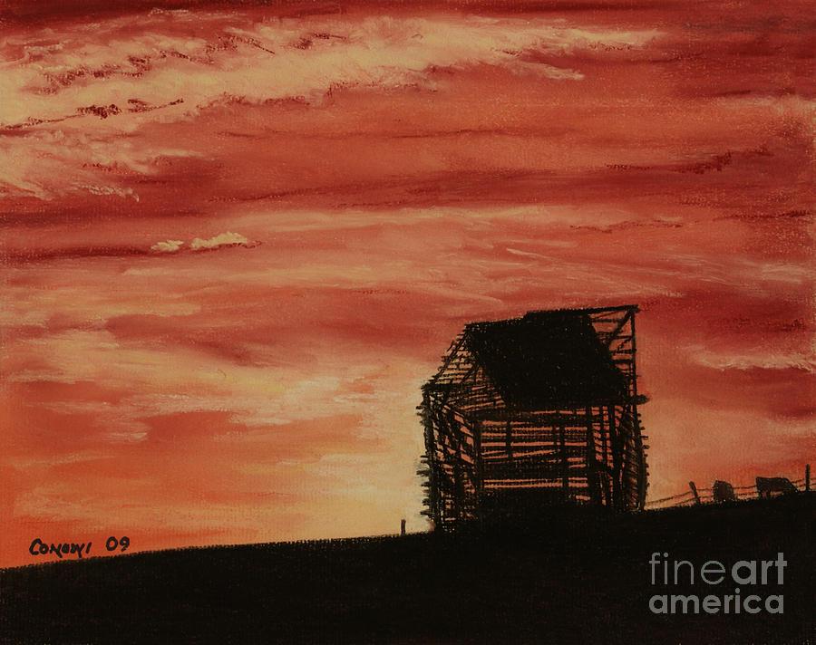 Landscape Pastel - Under The Sunset by Stanza Widen