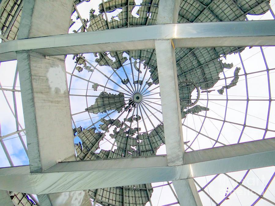 Unisphere Photograph - Under The Unisphere by Ed Weidman