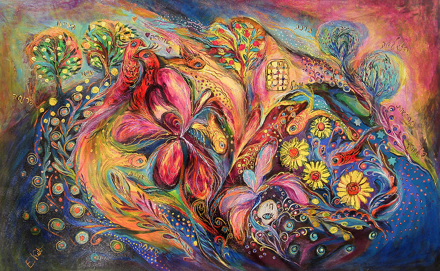 Original Painting - Under The Wind by Elena Kotliarker