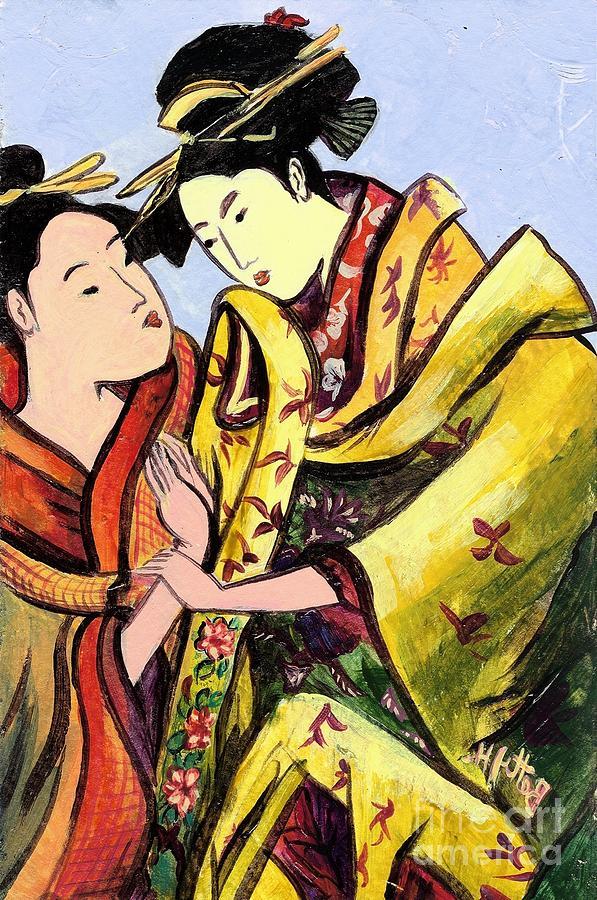 Colorful Painting - Understanding by Elisabeta Hermann