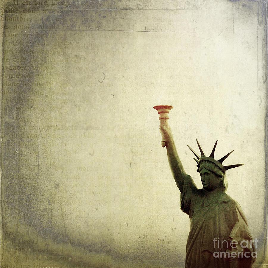 Sky Photograph - Understanding Liberty by Trish Mistric