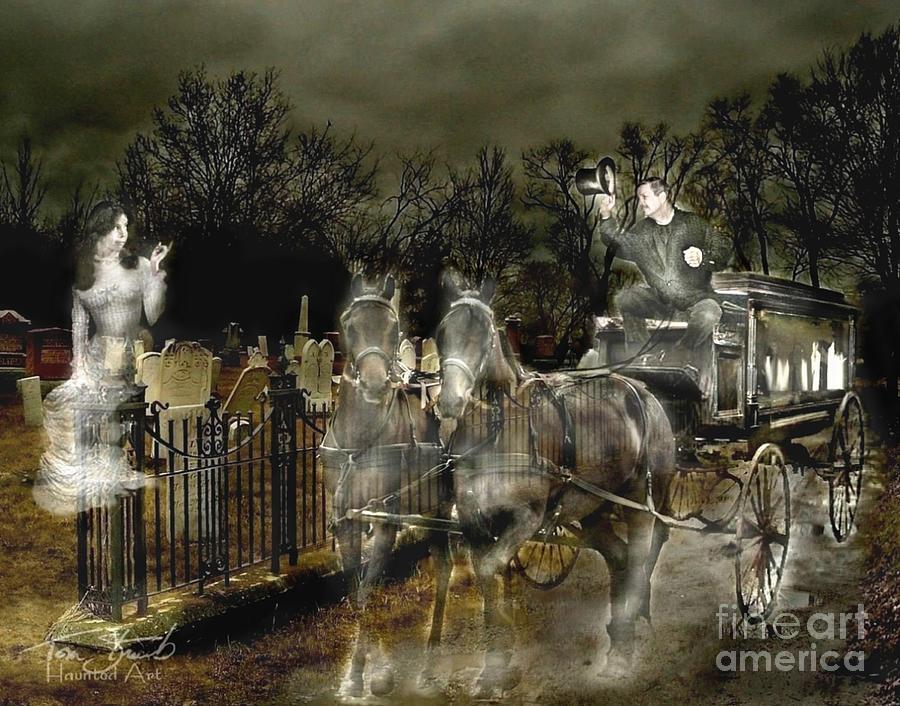 Abandoned Digital Art - Undertaker by Tom Straub