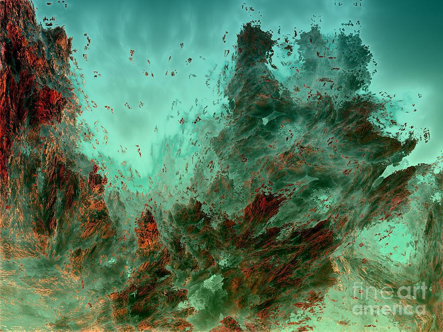 Digital Digital Art - Underwater 9 by Bernard MICHEL