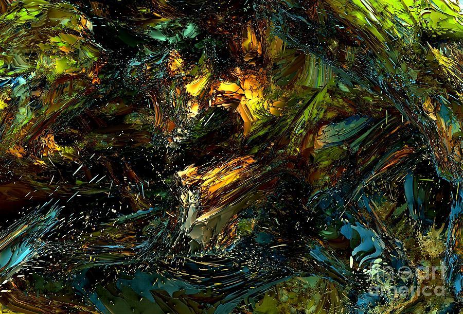 Digital Digital Art - Underwater by Bernard MICHEL