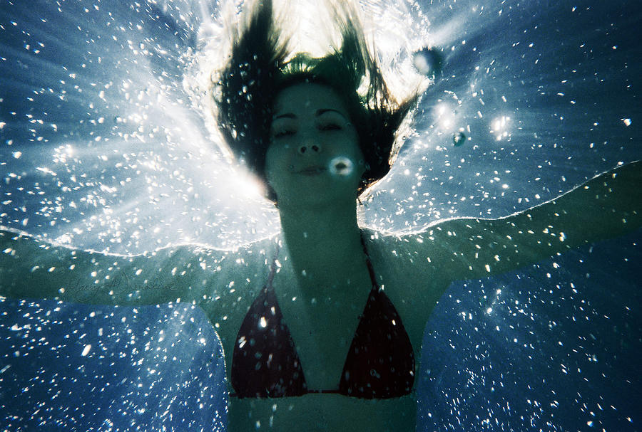 Underwater Photograph - Underwater Self-portrait by MAD Art and Circus