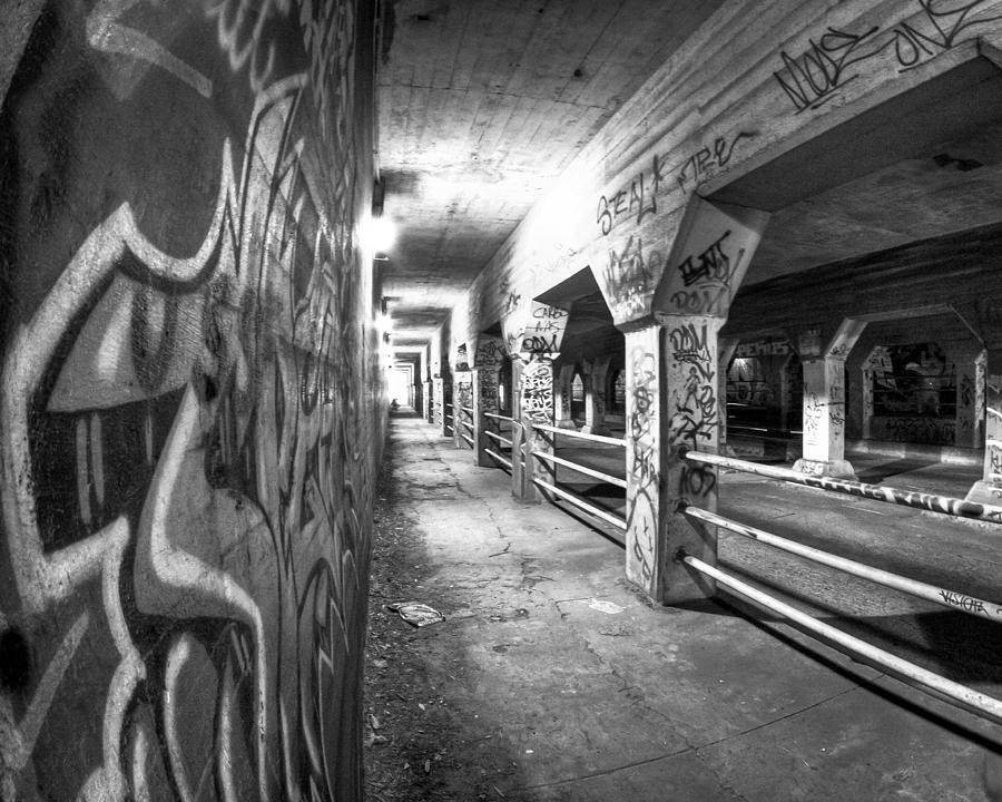 Atlanta Photograph - Underworld - The Krog Street Tunnel by Mark E Tisdale