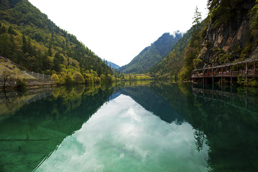 Unesco Landscpe Photostories Of Tibet Jiuzhaigou Photograph by Sundeep Bhardwaj Kullu sundeepkulluDOTcom