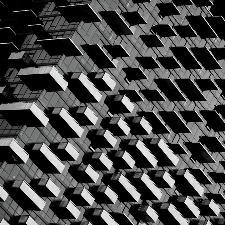 Balcony Photograph - Unfinished Balcony by Jonathan Lai