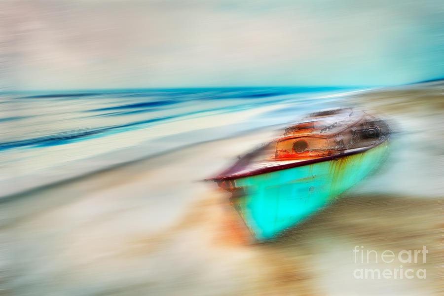 Outer Banks Photograph - Unfortunate Tides - A Tranquil Moments Landscape by Dan Carmichael