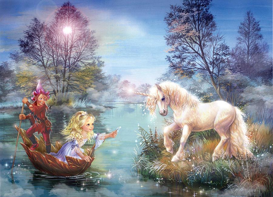 Unicorns Lake Photograph By Zorina Baldescu