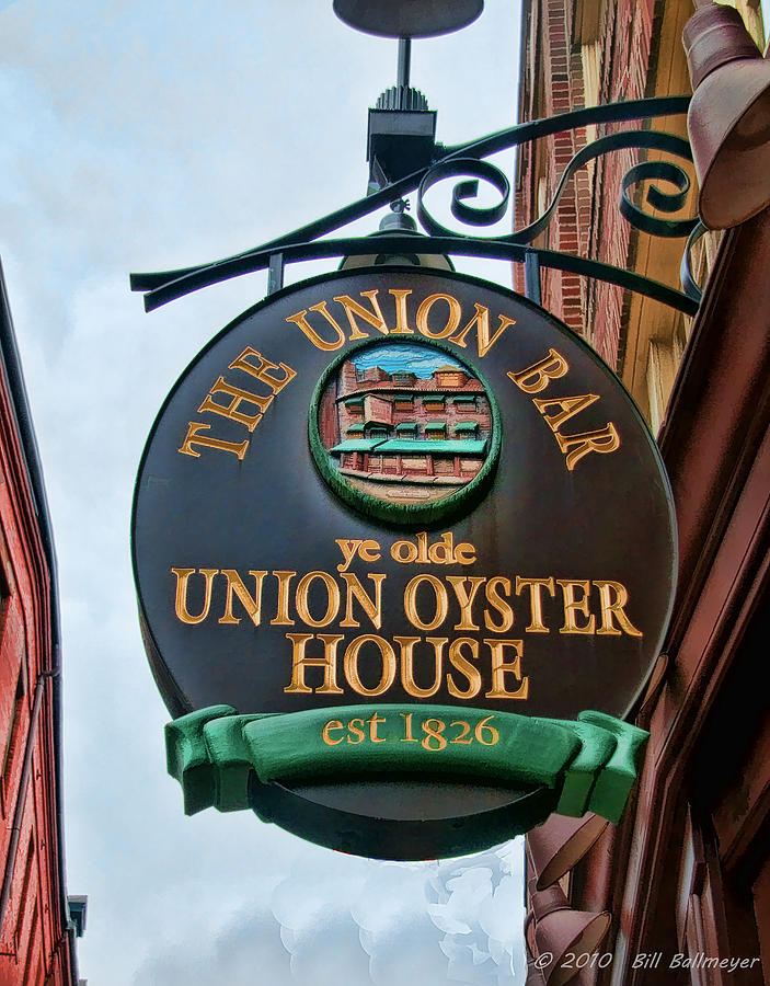 Union Oyster House Photograph - Union Oyster House  by Bill