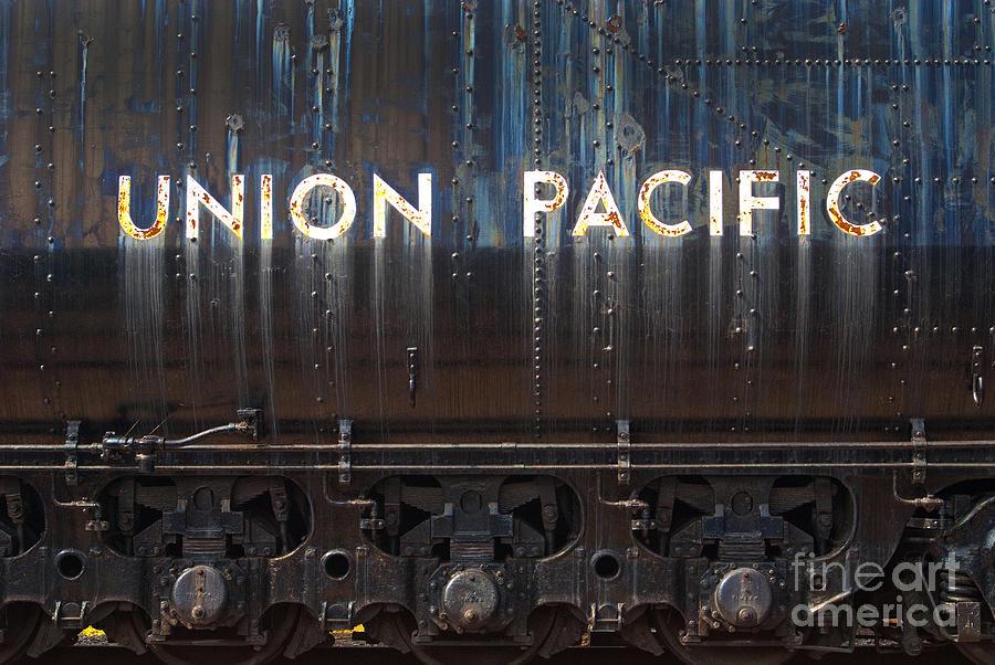 Union Pacific - Big Boy Tender Photograph