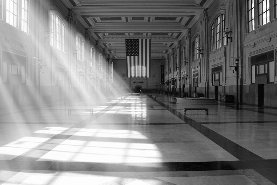 Union Station Photograph - Union Station - Kansas City by Mike McGlothlen