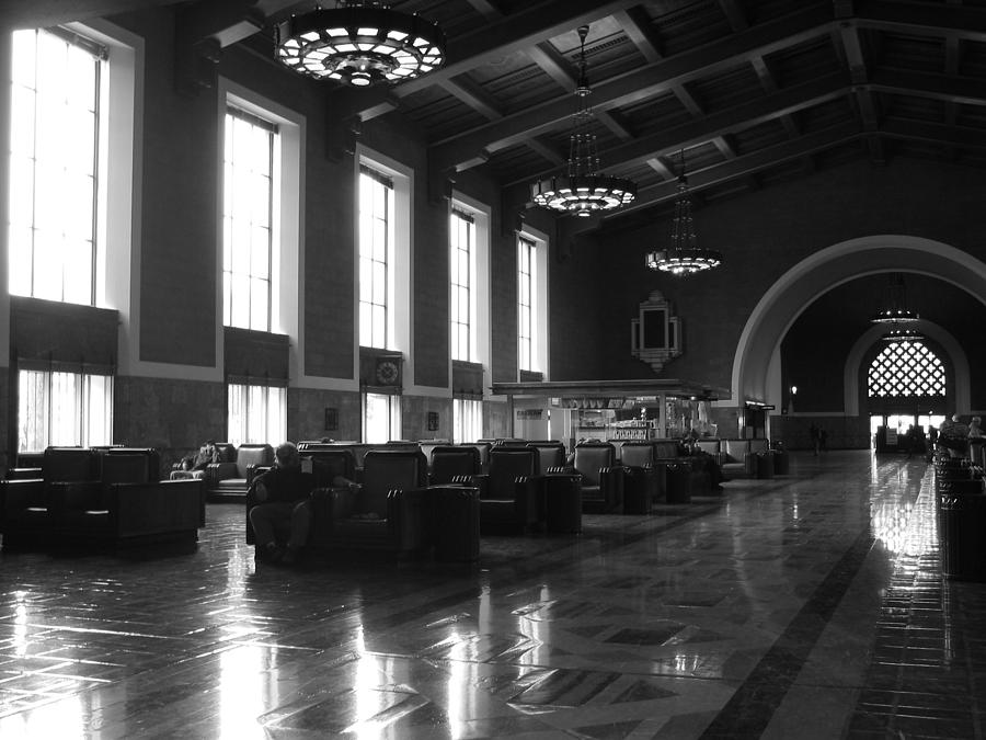 Union Station Photograph - Union Station Los Angeles by Jim McCullaugh