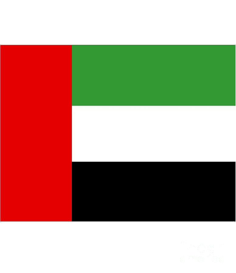 United Digital Art - United Arab Emirates Flag by Frederick Holiday