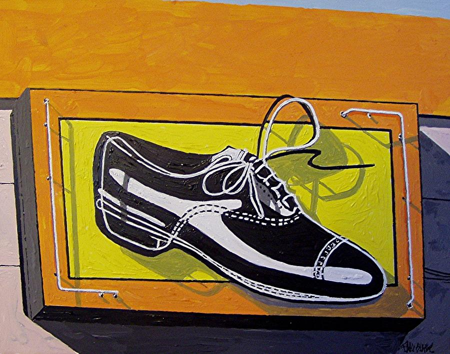Sacramento Painting - United Cobblers by Paul Guyer