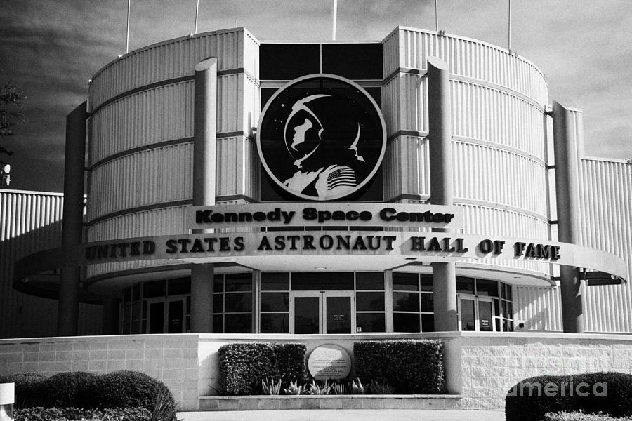 Kennedy Photograph - united states astronaut hall of fame Kennedy Space Center Florida USA by Joe Fox