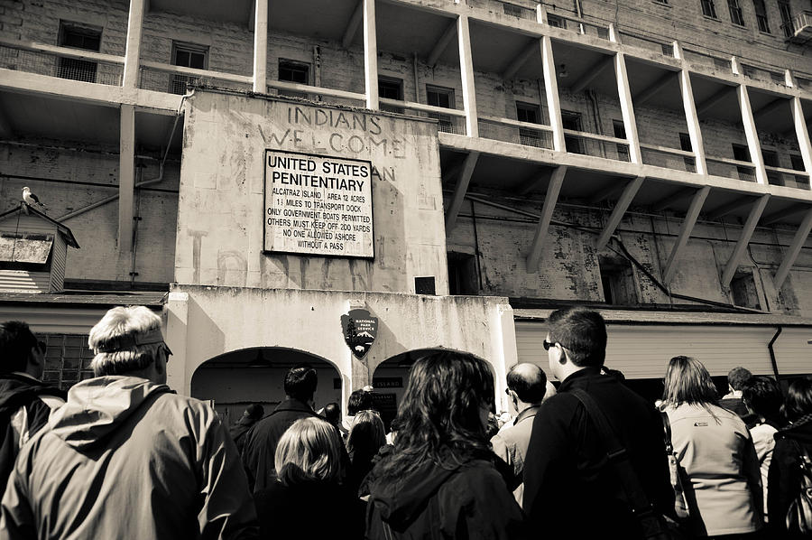 Alcatraz Photograph - United States Penitentiary by Zina Zinchik
