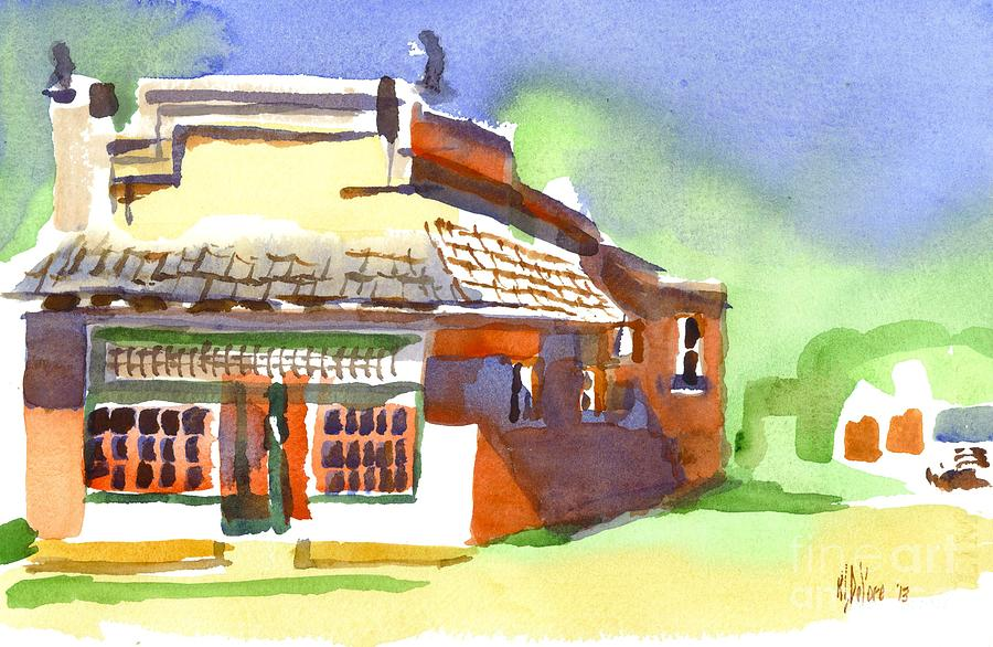 United States Post Office Painting - United States Post Office by Kip DeVore