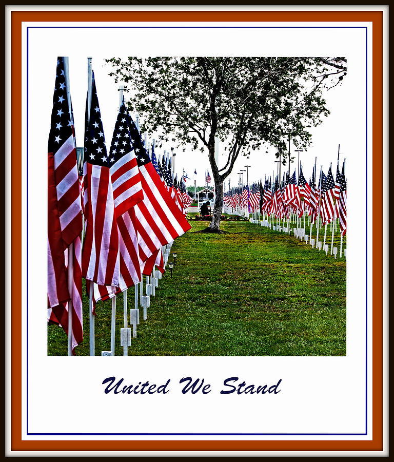 United Photograph - United We Stand by Ella Kaye Dickey