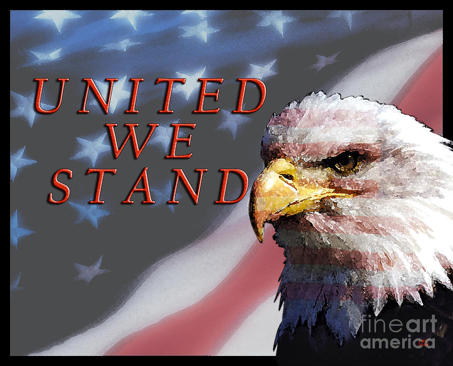 Americana Photograph - United We Stand by Lawrence Costales
