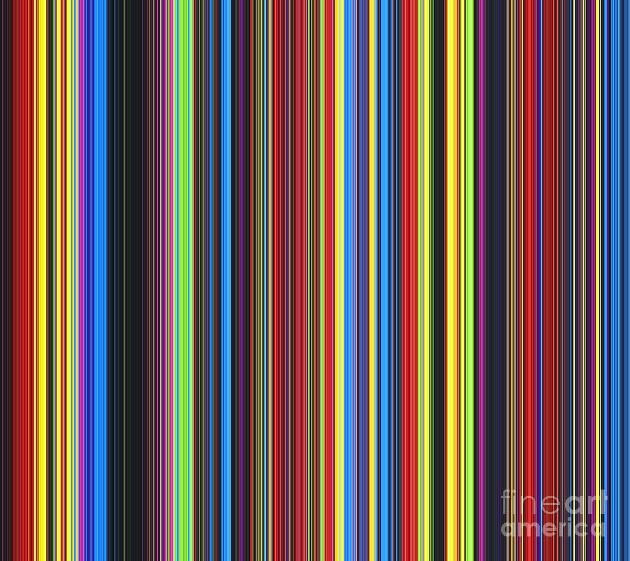 Colour Digital Art - Unity Of Colour by Tim Gainey