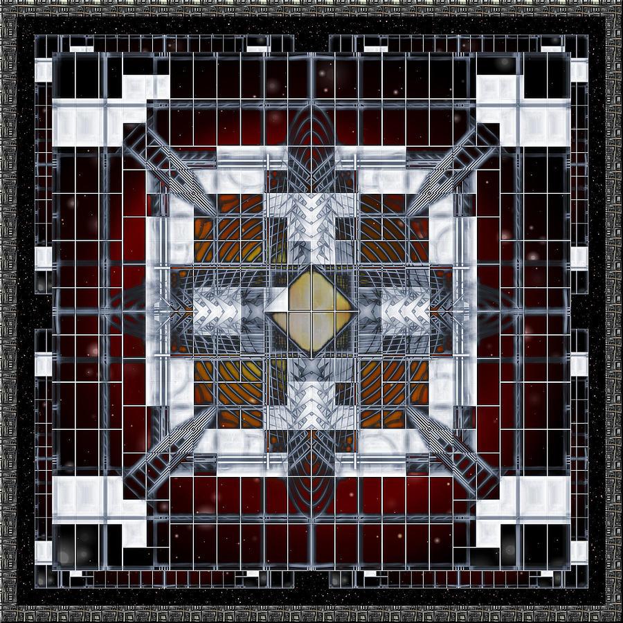 Digital Artwork Digital Art - Universal Form And Function by Mario Carini