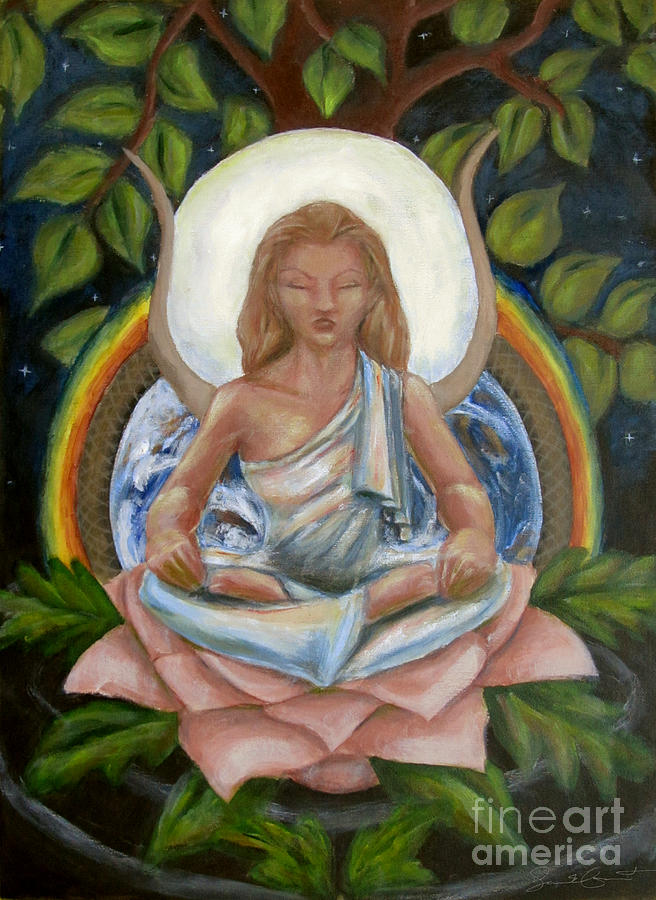 Goddess Painting - Universal Goddess by Samantha Geernaert