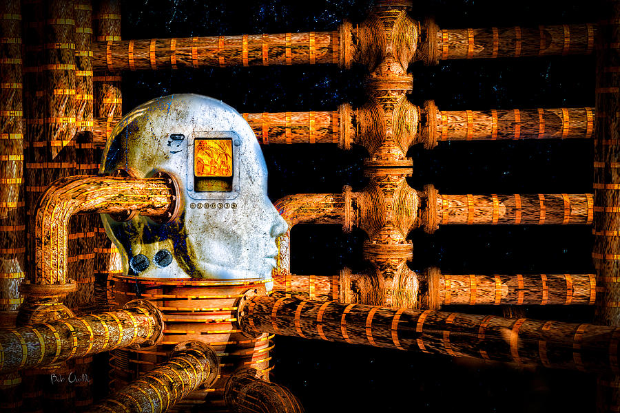 Surreal Digital Art - Universal Mind by Bob Orsillo