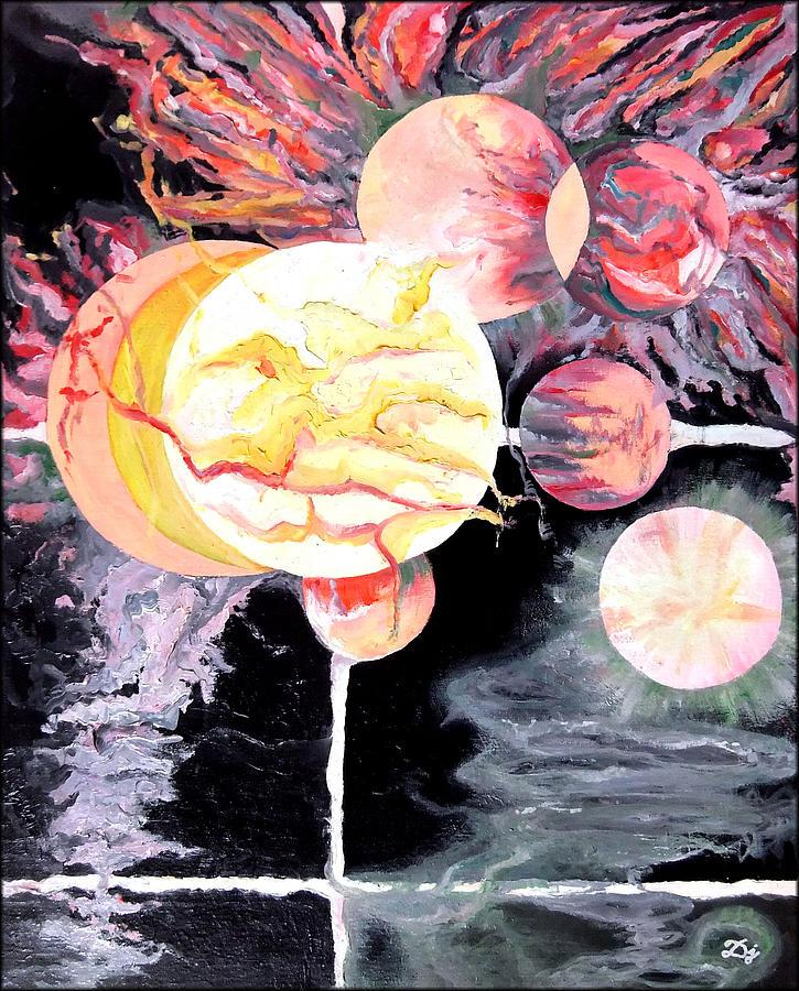 Universe Painting - Universe by Daniel Janda