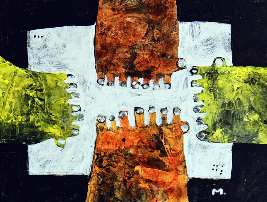 Painting Painting - Universi No. 10  by Mark M  Mellon