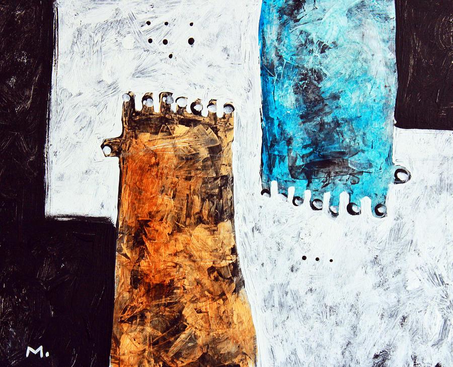 Acrylic Painting - Universi No. 2 by Mark M  Mellon