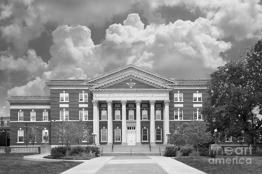 Albany Photograph - University At Albany Draper Hall by University Icons