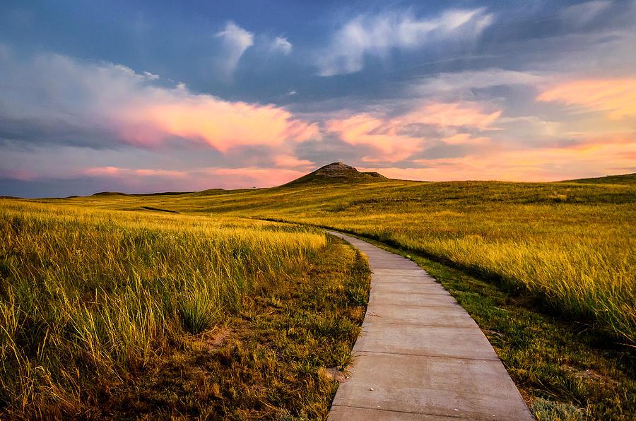 University Hill Photograph by Posnov