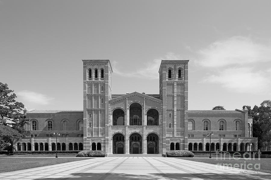 Aau Photograph - University Of California Los Angeles Royce Hall by University Icons