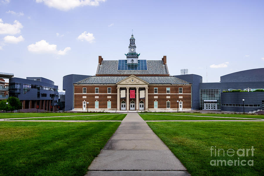 America Photograph - University Of Cincinnati Tangeman University Center  by Paul Velgos