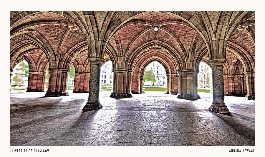 Scotland Photograph - University Of Glassgow by Anusha Hewage