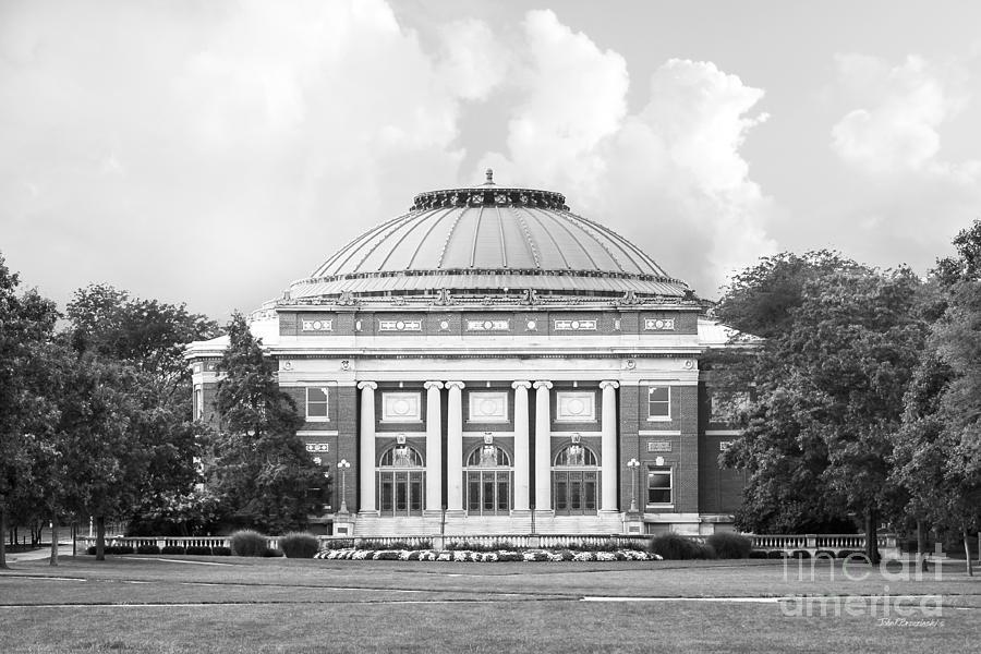 American Photograph - University Of Illinois Foellinger Auditorium by University Icons
