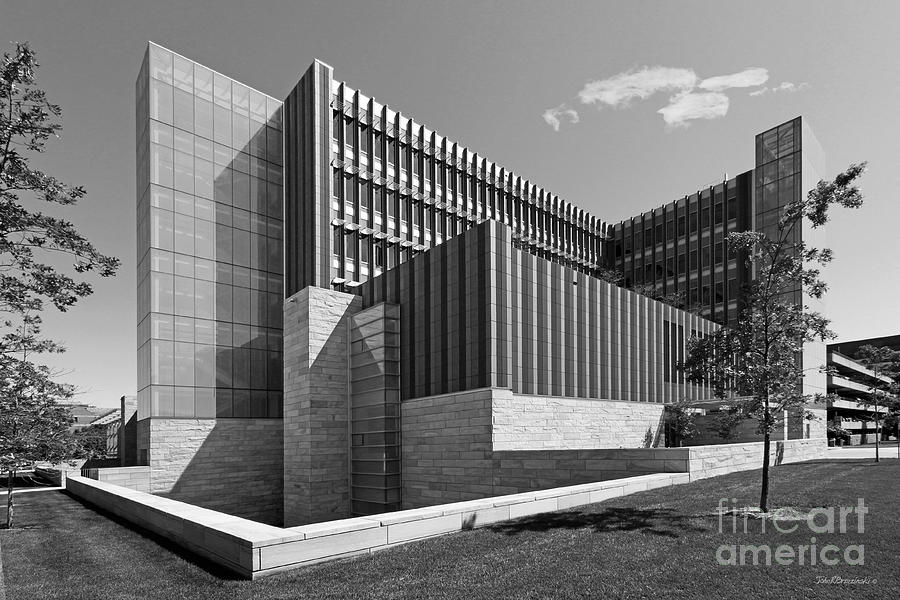 Ann Arbor Photograph - University Of Michigan Ross School Of Business by University Icons