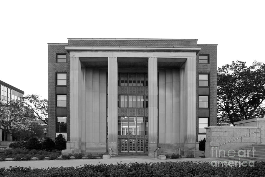 Aau Photograph - University Of Minnesota Ford Hall by University Icons