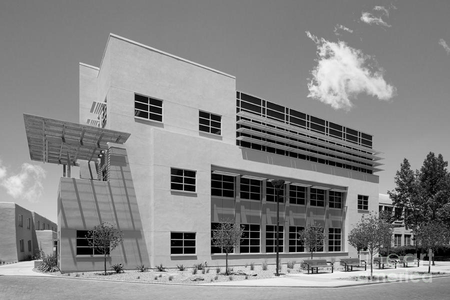 Albuquerque Photograph - University Of New Mexico Castetter Hall by University Icons